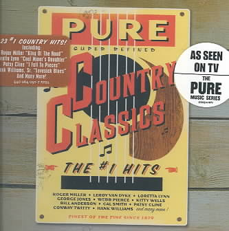PURE COUNTRY CLASSICS NUMBER 1 HITS (CD)